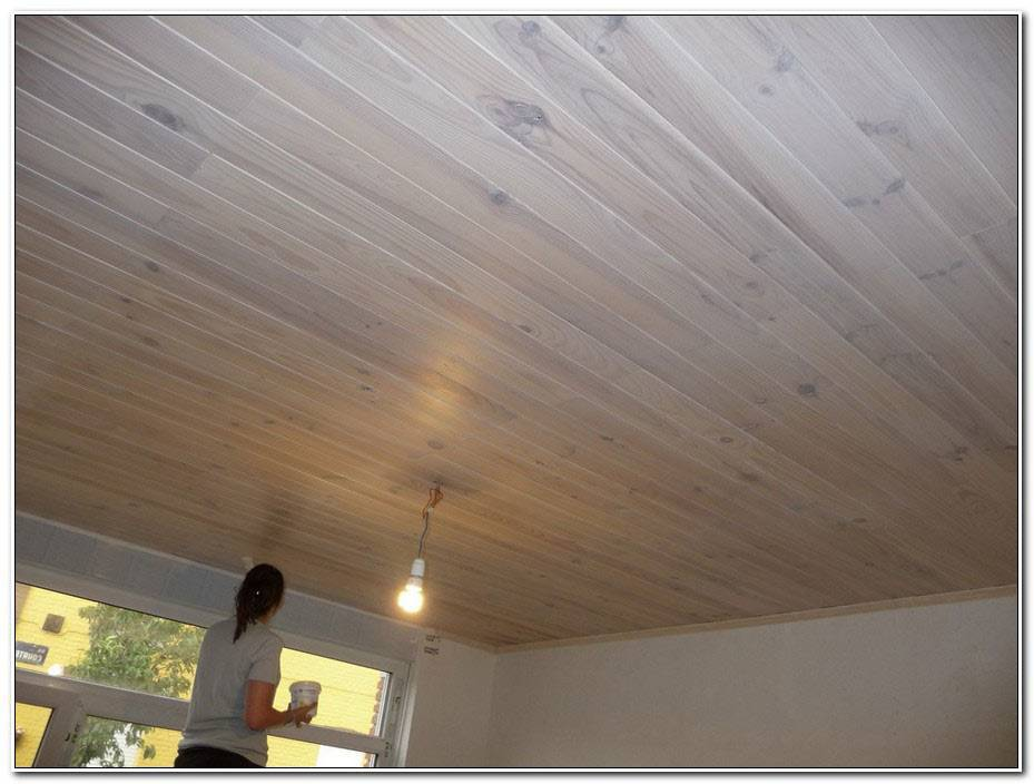 Peindre Un Plafond En Bois