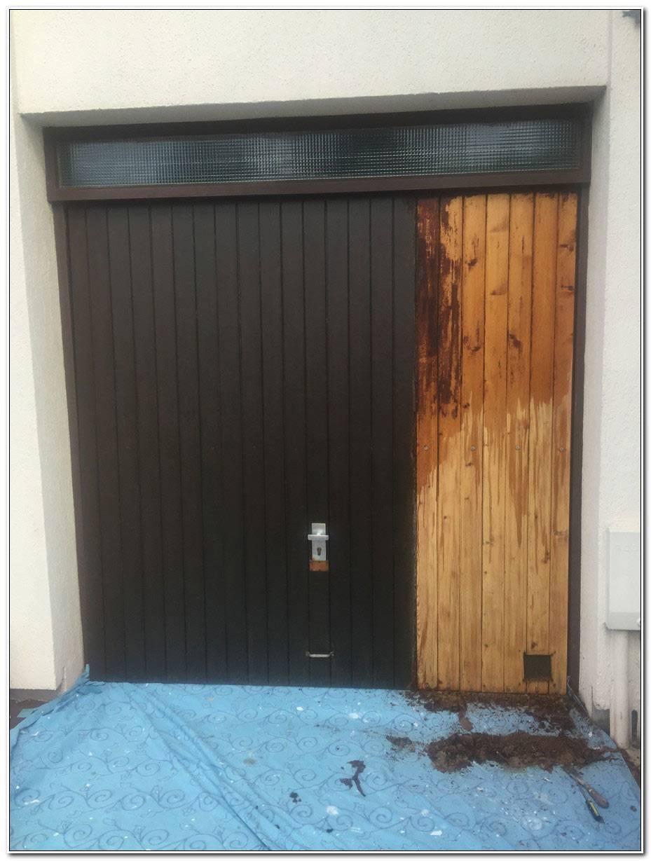 Peindre Une Porte De Garage