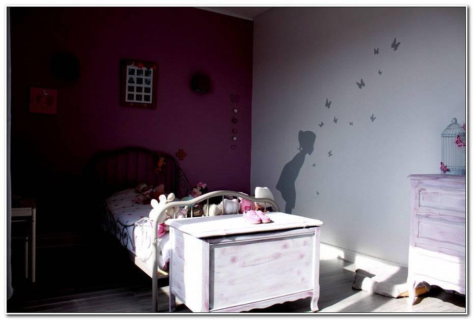Peinture Chambre Fille Rose Et Gris