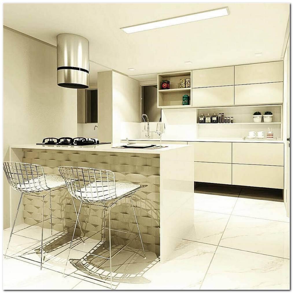 Pequena Cozinha Moderna