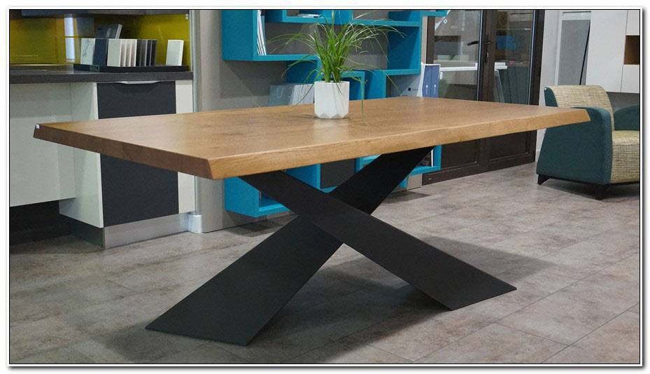 Pieds De Table Metal Design