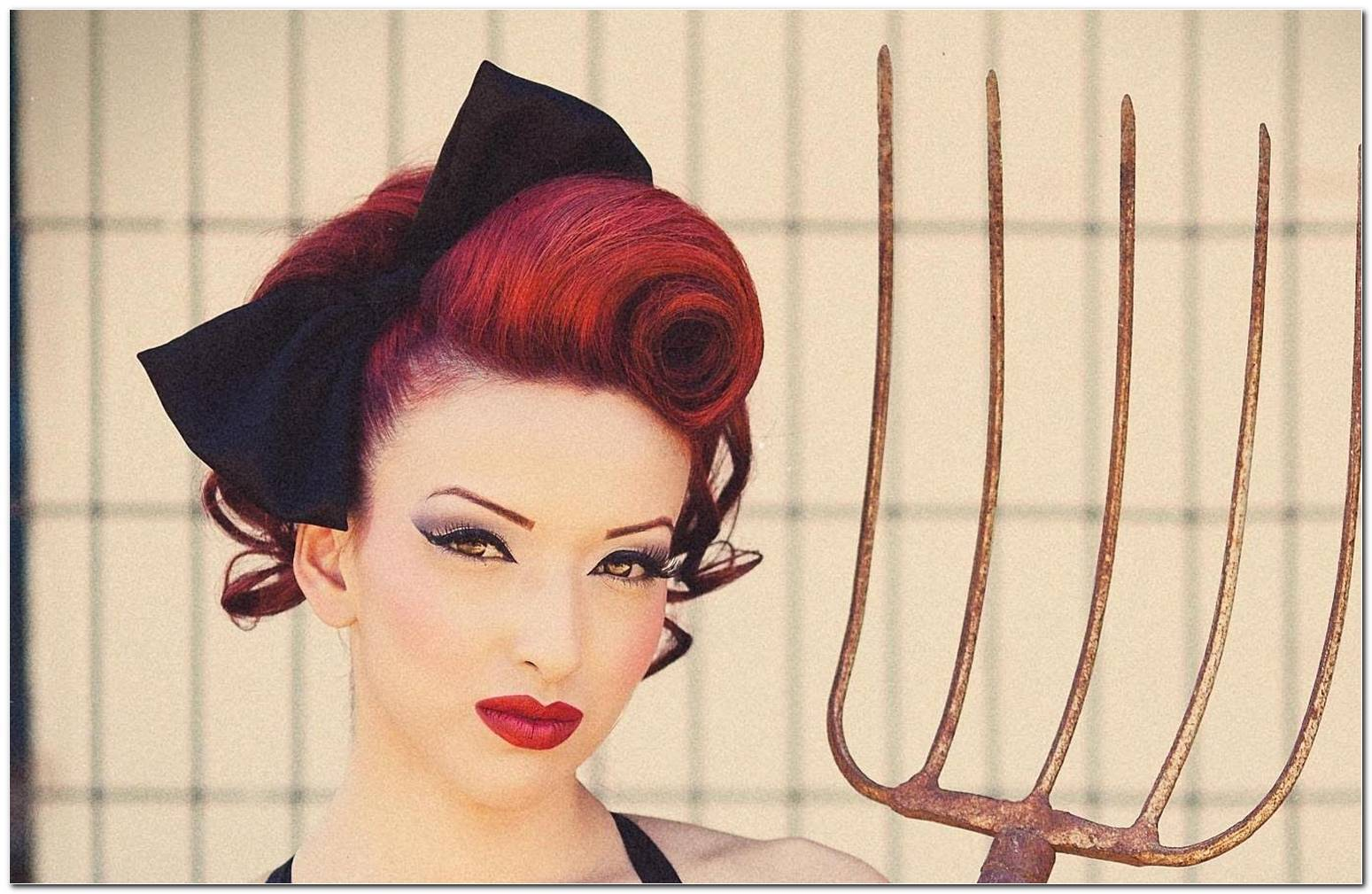 Pin Up Style Frisuren
