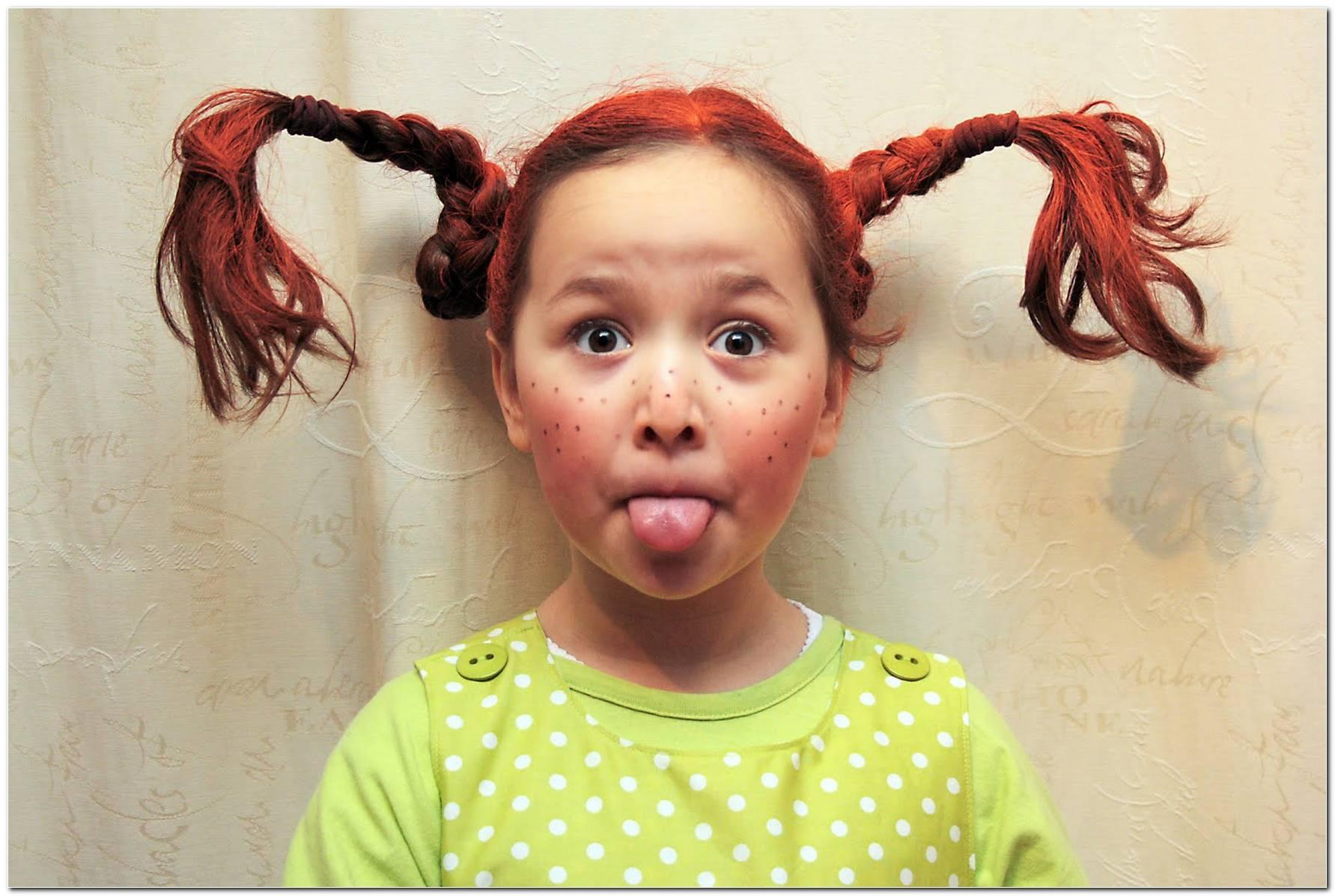 Pippi Langstrumpf Frisur