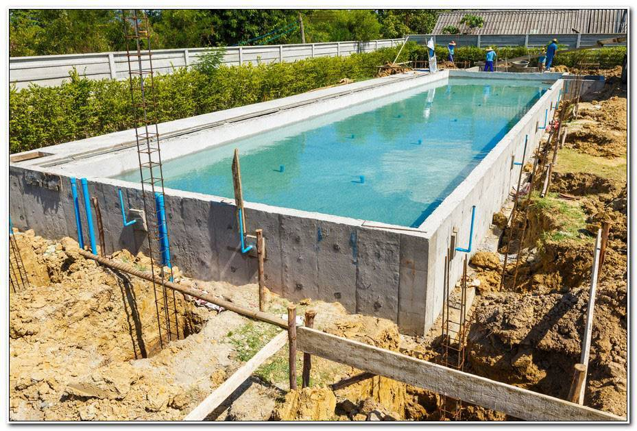 Piscine En Kit Beton