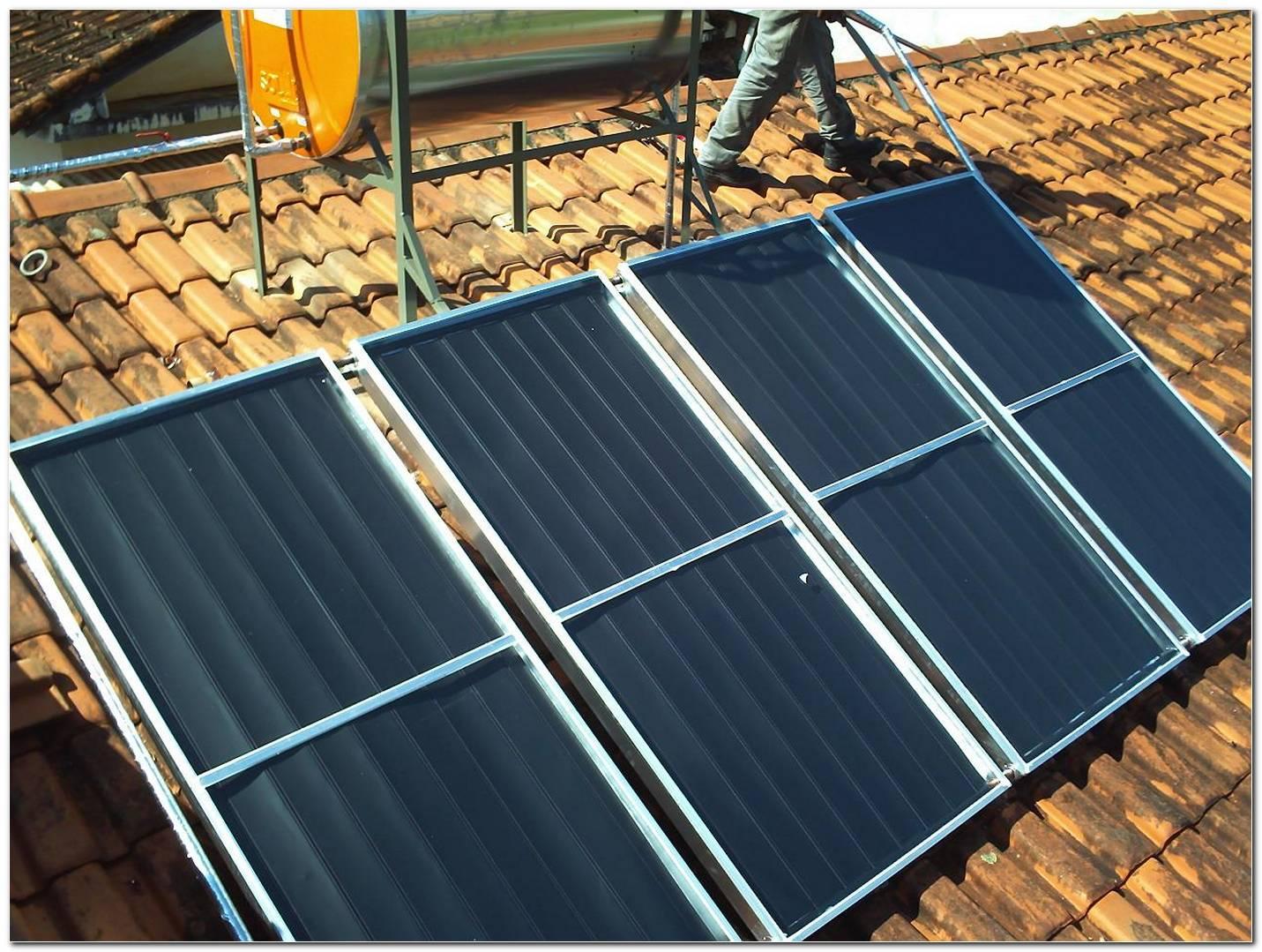 Placas Para Aquecimento Solar