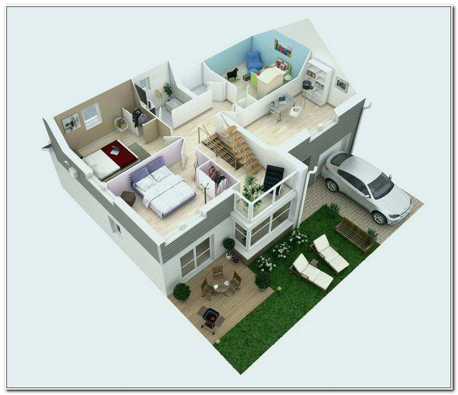 Plan 3d Maison Gratuit