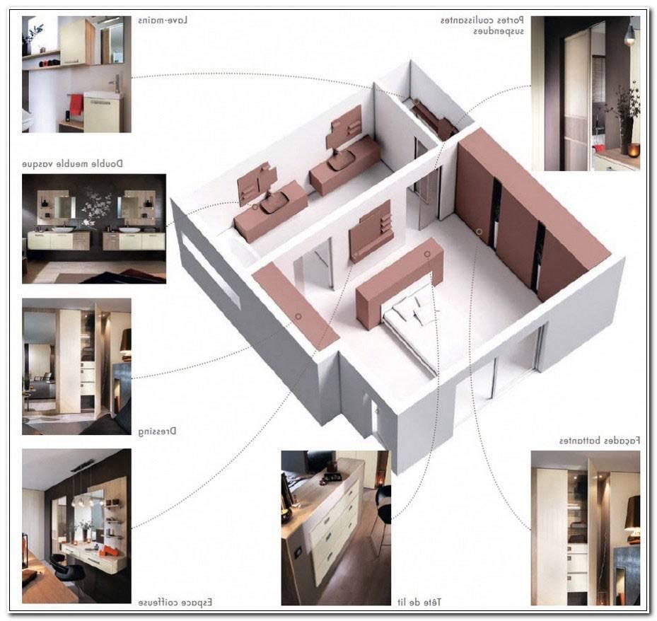 Plan Chambre Parentale 20m2