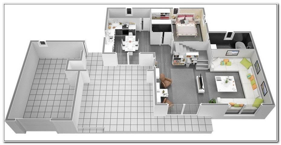 Plan D Une Maison De 120m2