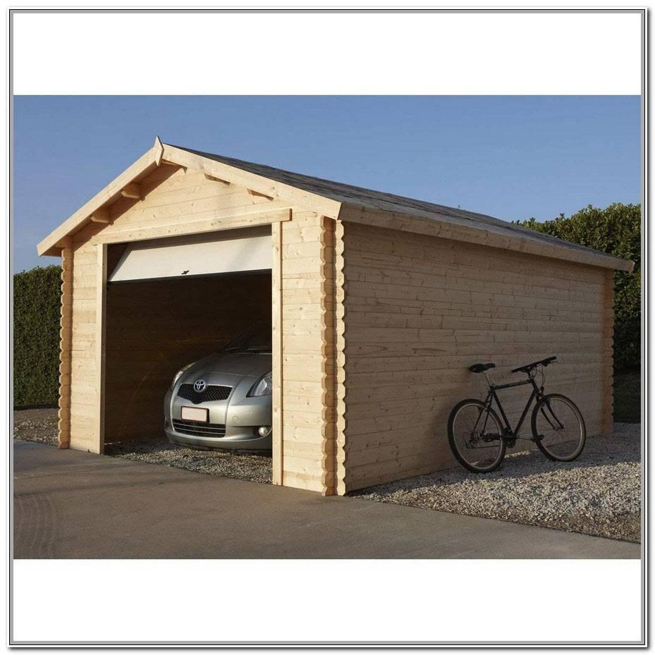 Plan De Garage En Bois