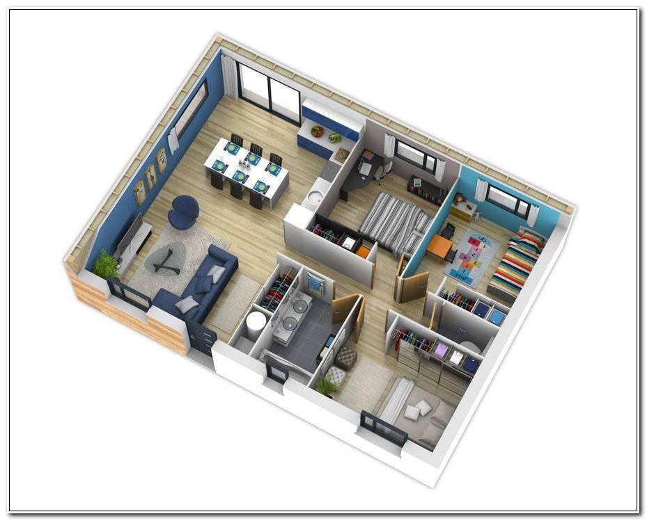 Plan De Maison Interieur