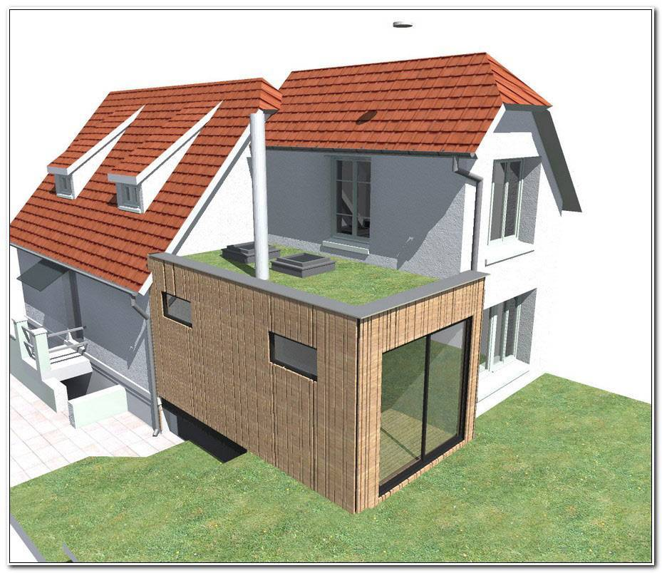 Plan Extension Maison 40m2