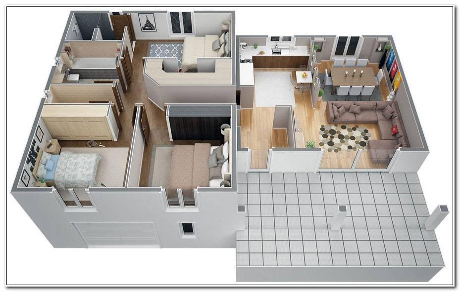 Plan Maison 100m2 A Etage