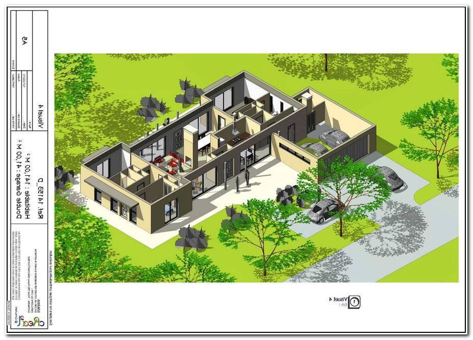 Plan Maison 5 Chambres Plain Pied Gratuit