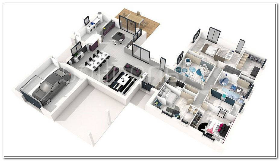 Plan Maison 5 Chambres