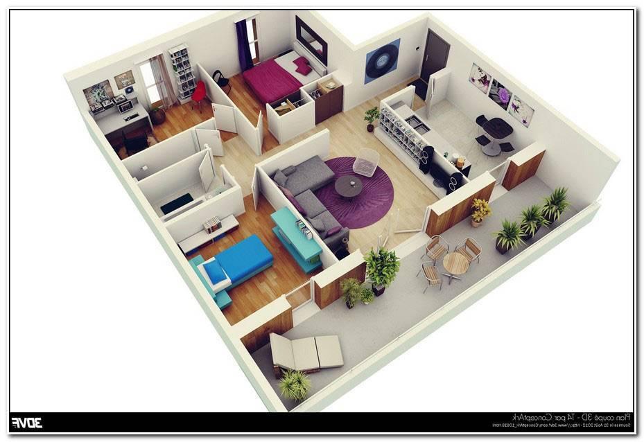 Plan Maison Americaine 3d