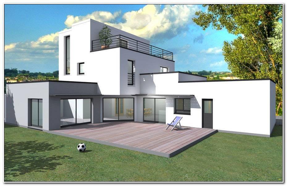 Plan Maison Cube A Etage
