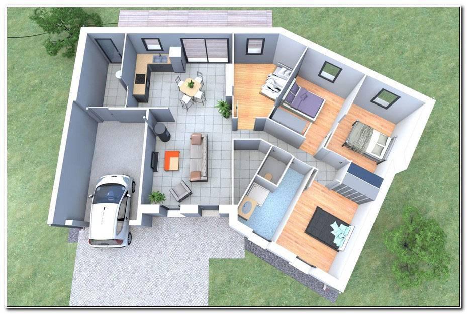 Plan Maison En Forme De U