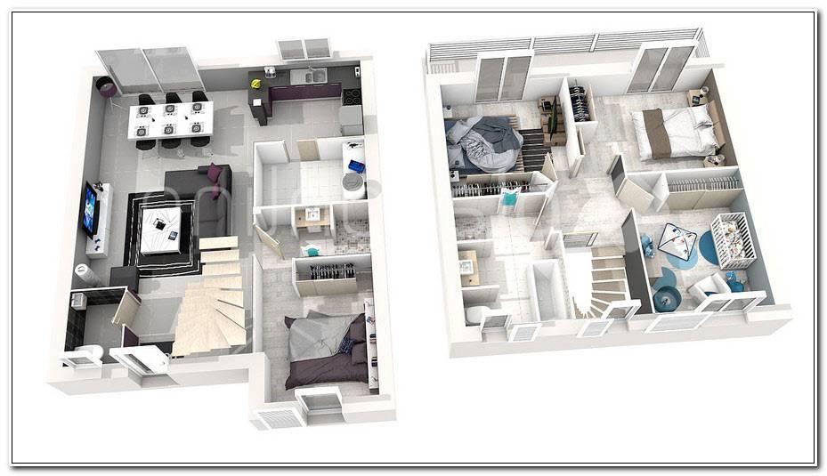 Plan Maison Etage 3 Chambres
