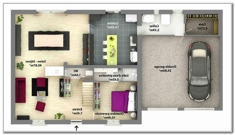 Plan Maison Etage 4 Chambres