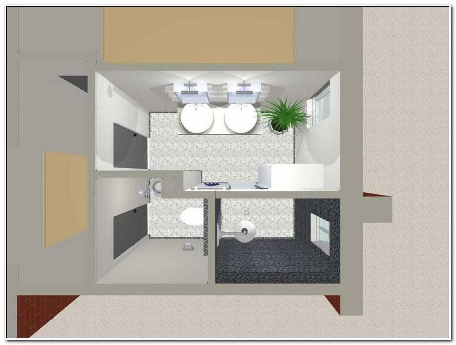 Plan Salle De Bain 6m2