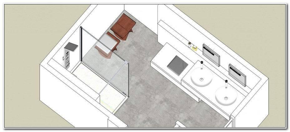 Plan Salle De Bain 8m2