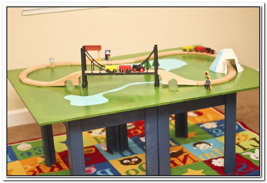 Playful Diy Train Table