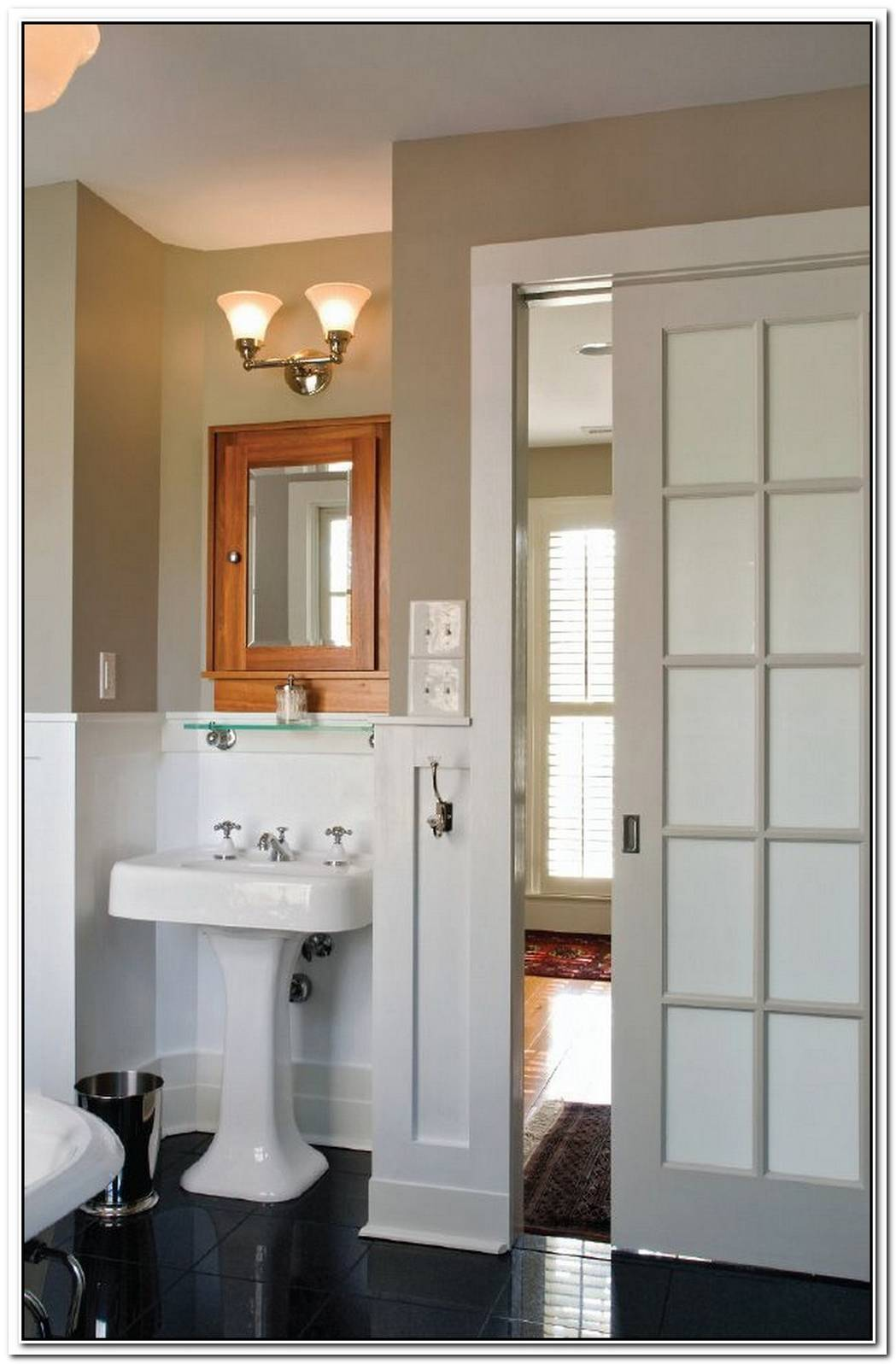 Pocket Door Bathroom Classic
