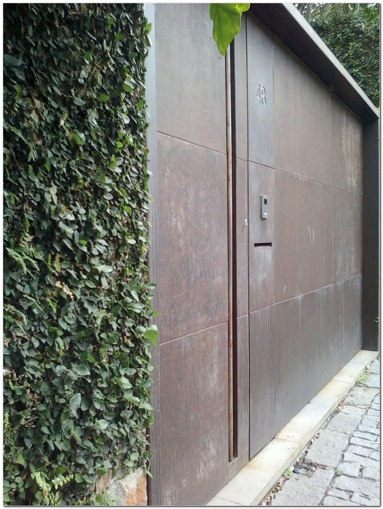 Portão De Ferro Conheça As Principais Características E Aberturas