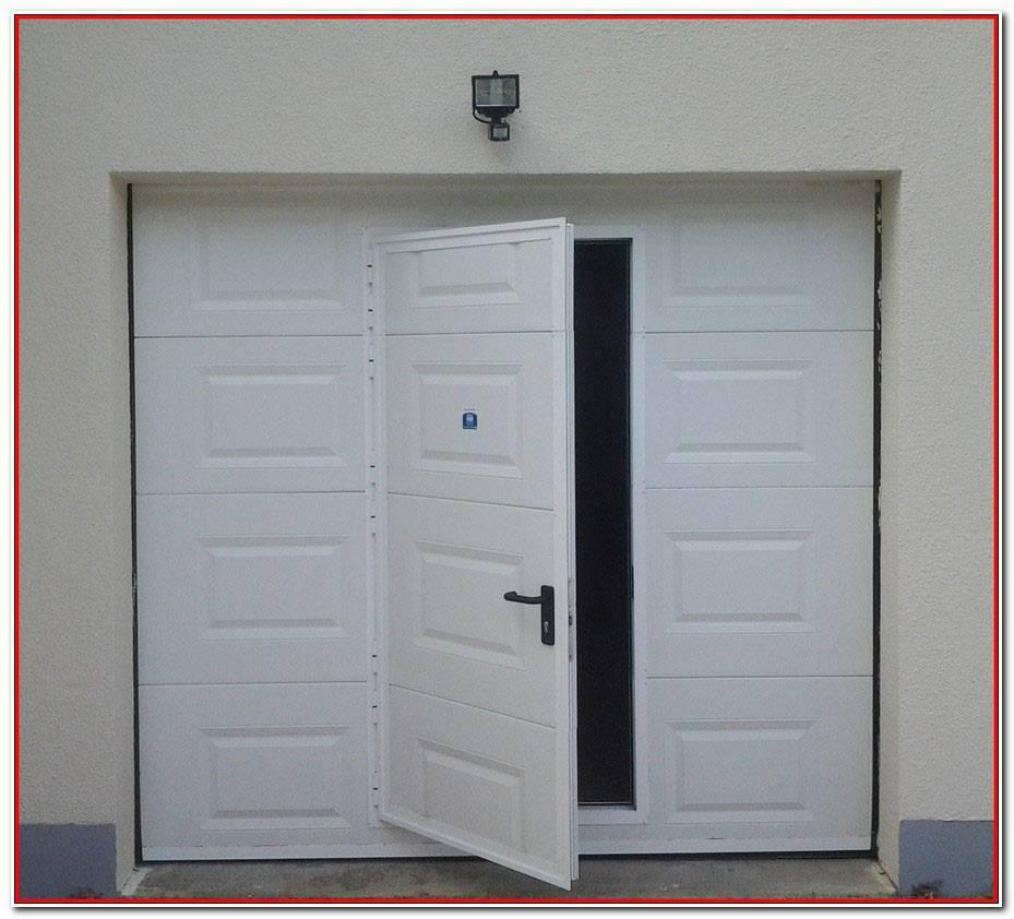 Porte Sectionnelle Pas Cher