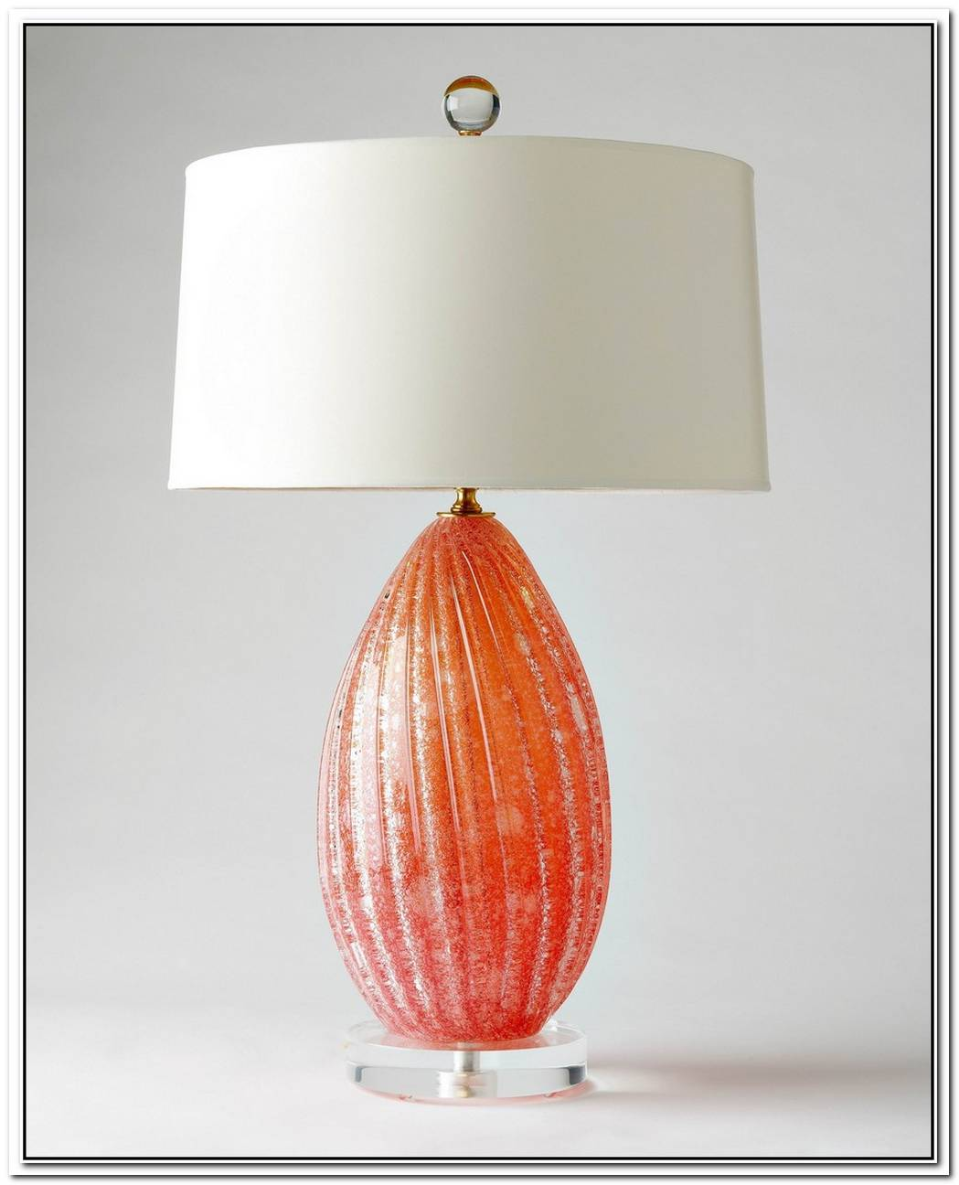 Possini Coral Vase Table Lamp