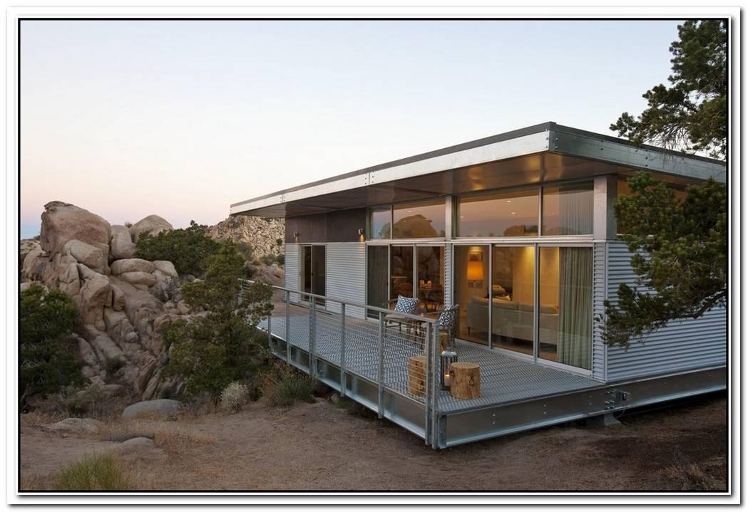 Prefab Contemporary Desert Residence