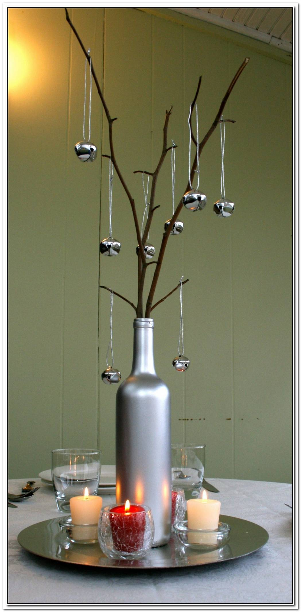 Prepare Your Home For A New Season With A Branch Candle Centerpiece
