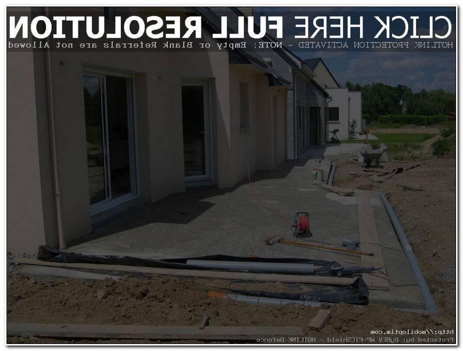 Prix D Une Terrasse En Beton