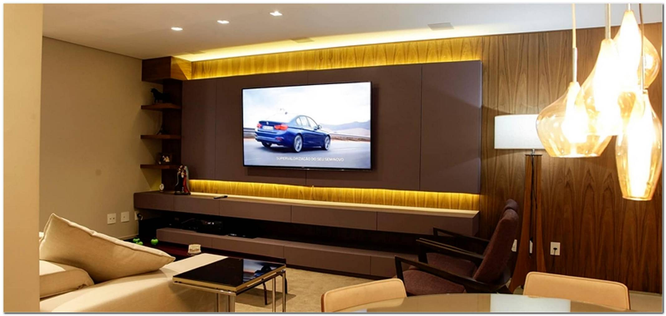 Projeto Sala Tv Home Theater