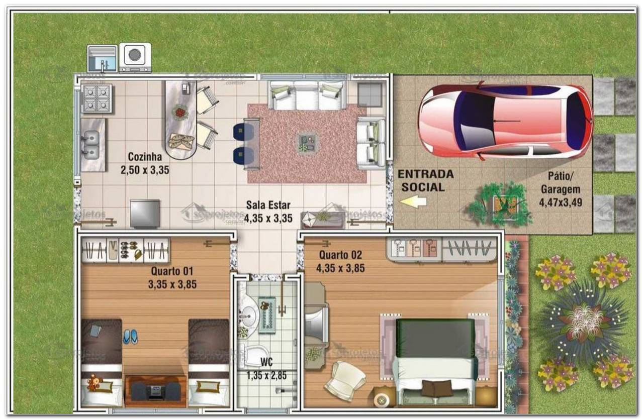 Projetos Para Casas Populares