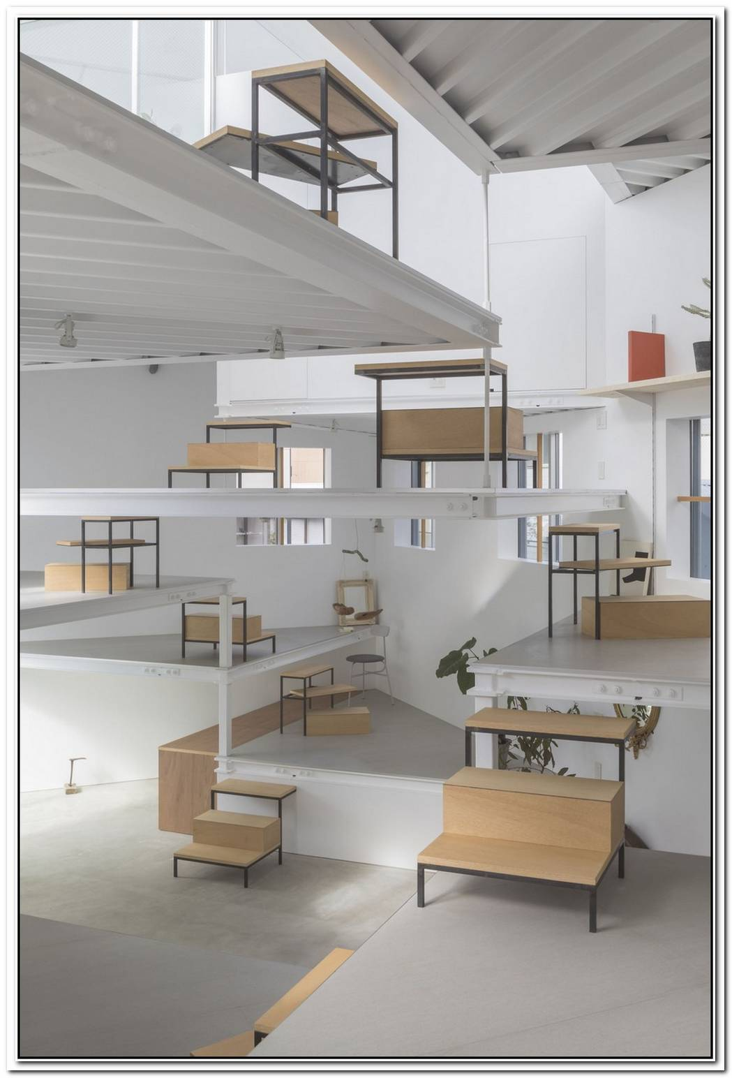 Puzzling Loft In Italy By Boa Studio Architetti