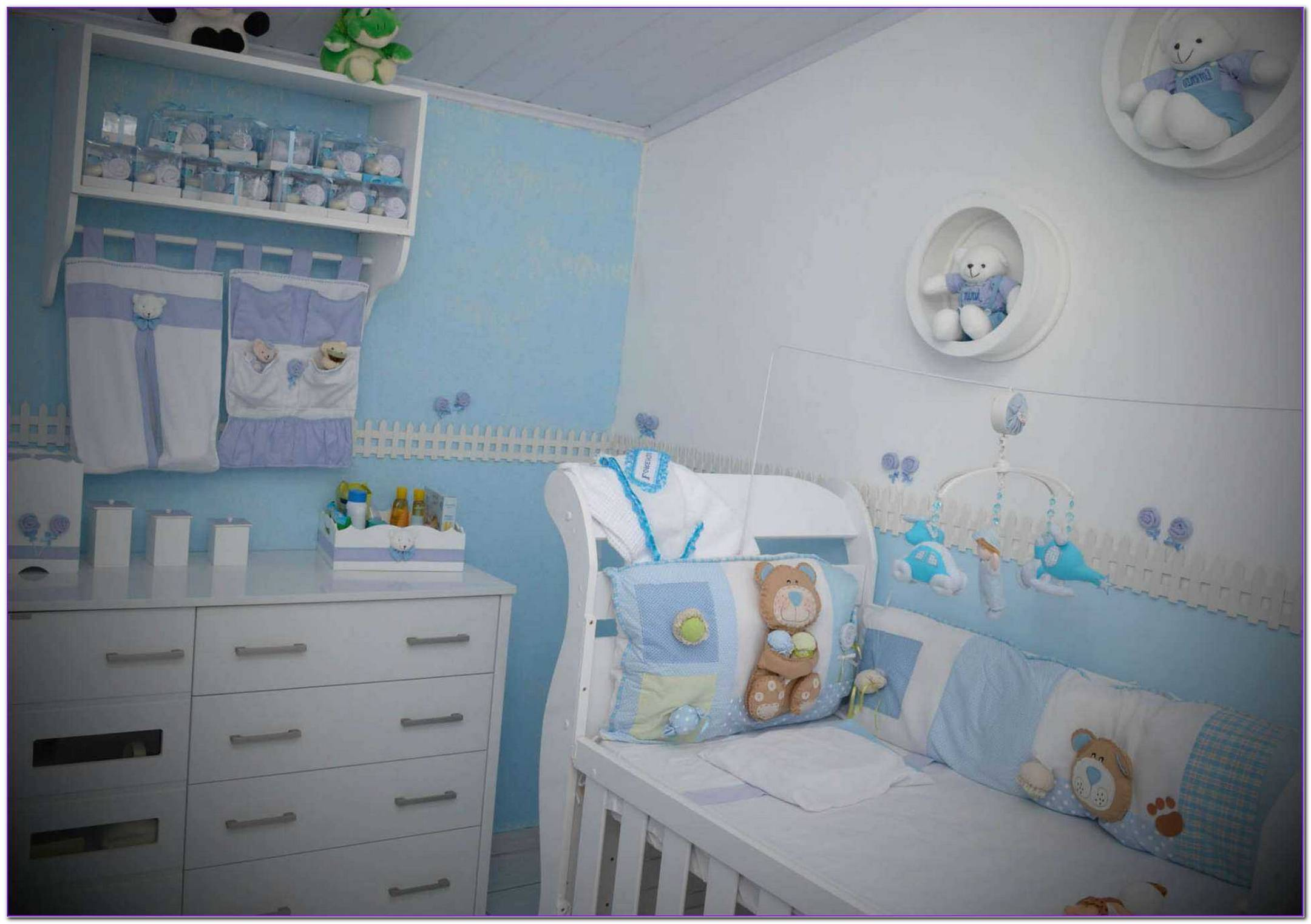 Quarto Decorado De Bebe Masculino