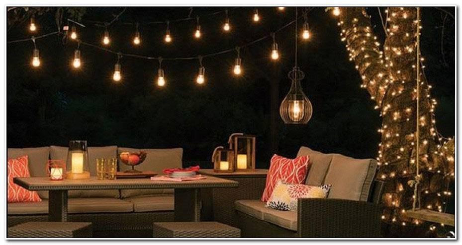 Quel Eclairage Pour Une Terrasse