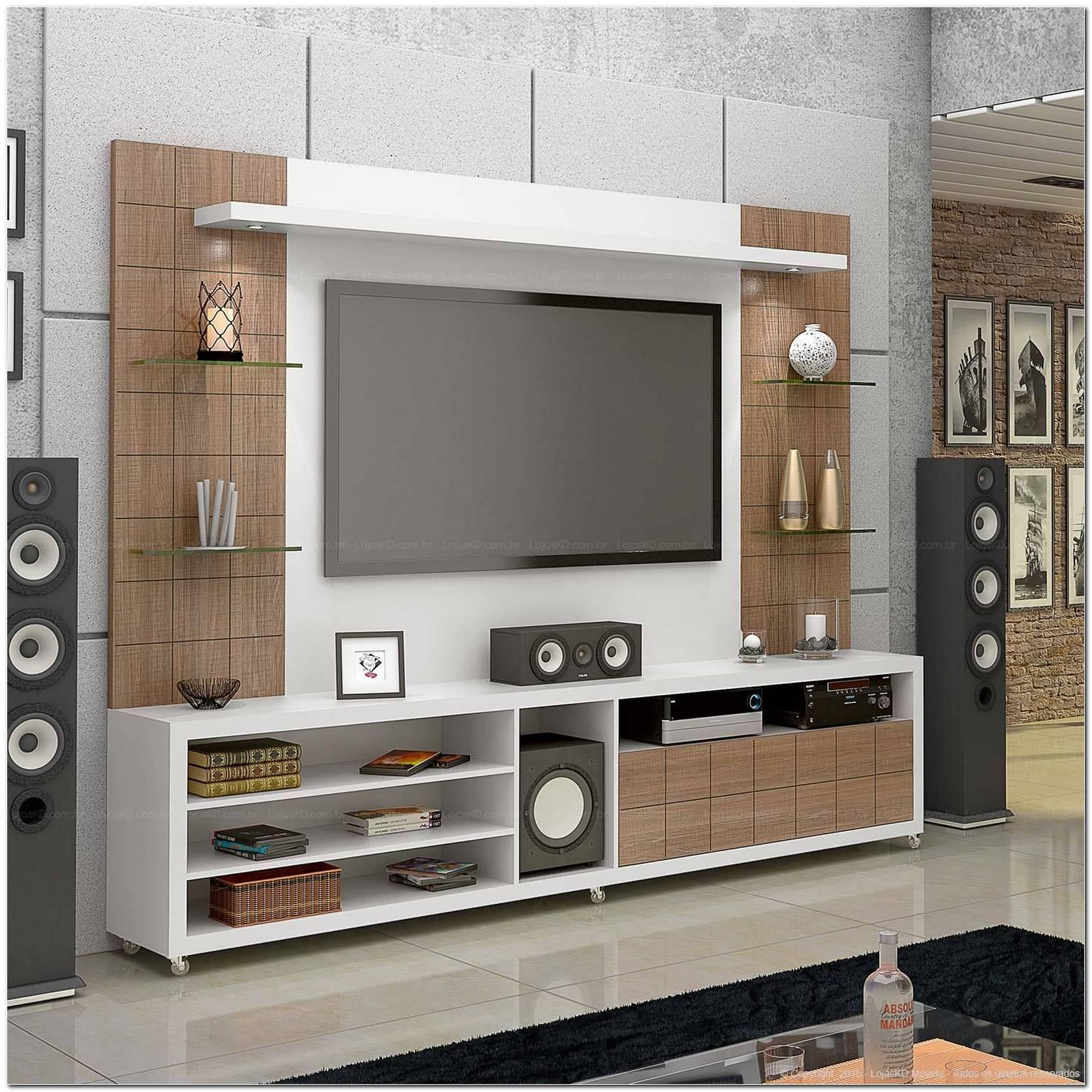 Rack Para Sala De Tv Com Painel