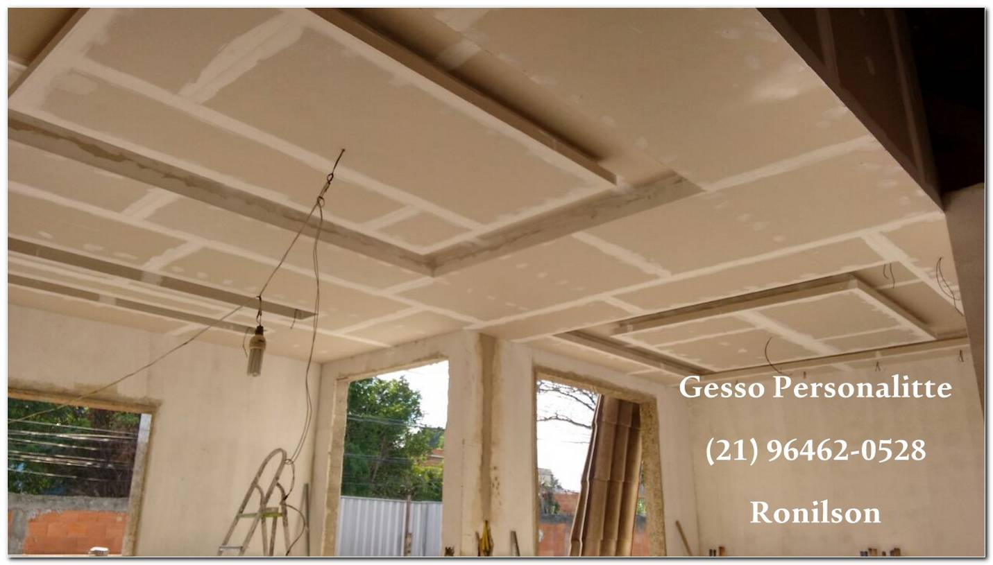 Rebaixamento De Teto Drywall