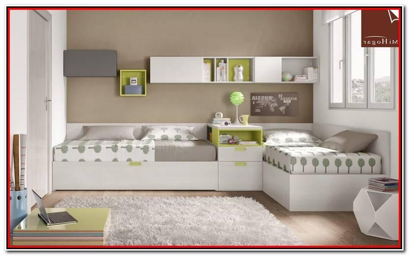 Reciente Dormitorios Juveniles Dos Camas Galería De Cama Decoración