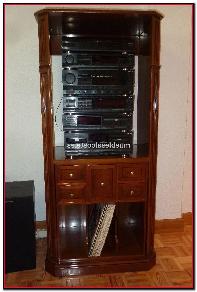Reciente Mueble Equipo Musica Colección De Muebles Accesorios