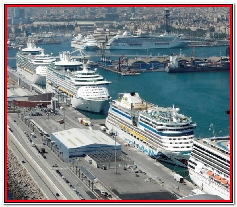 Reciente Parking Puerto Barcelona Cruceros Colección De Puertas Idea