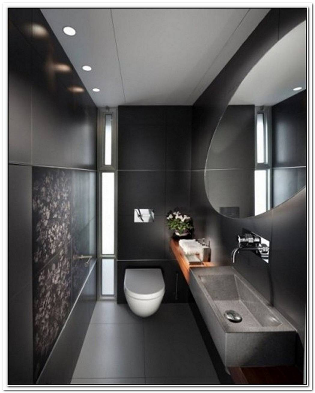 Rectangular Designer Contemporary Bathroom