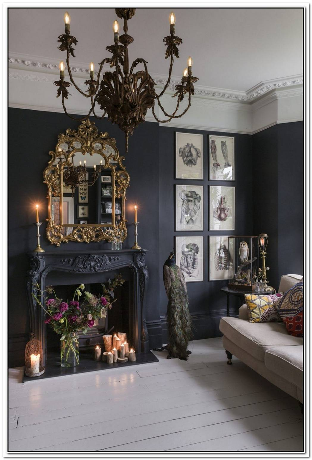 Refined Mixture Of Classic And Modern In A London Home