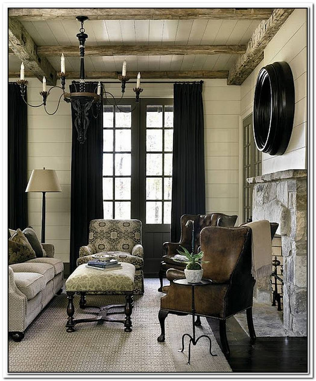 Refined Rustic LivingCountry Chic Mountain Retreat