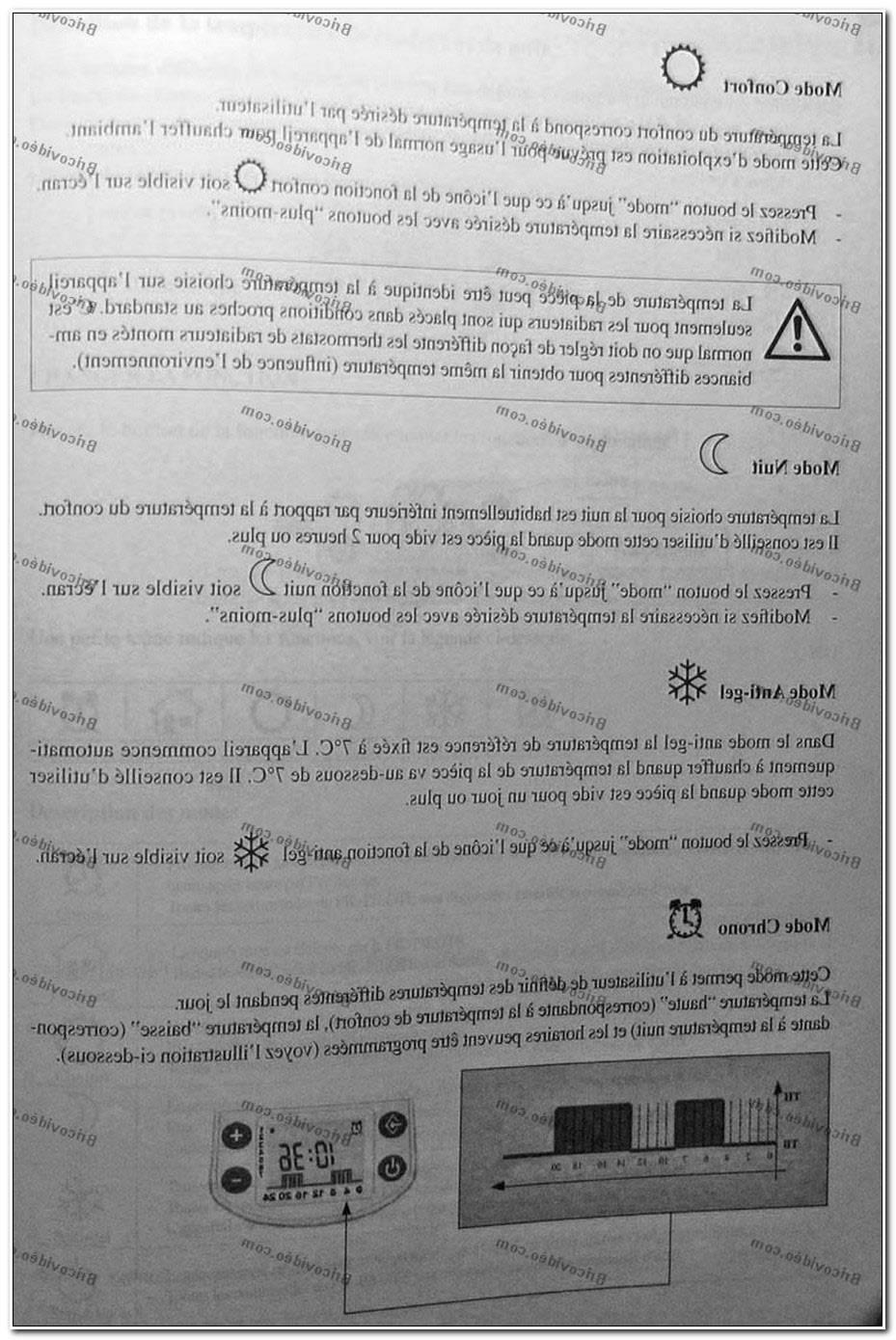 Reglage Radiateur Electrique Delonghi