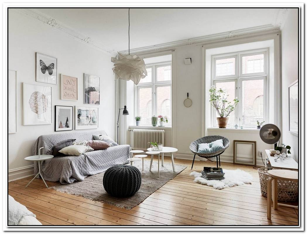 Renovated And Meticulously Decorated Swedish Apartment
