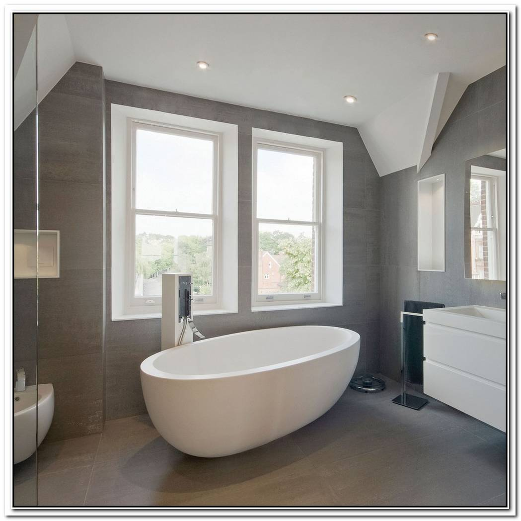 Residential Bathroom Grey
