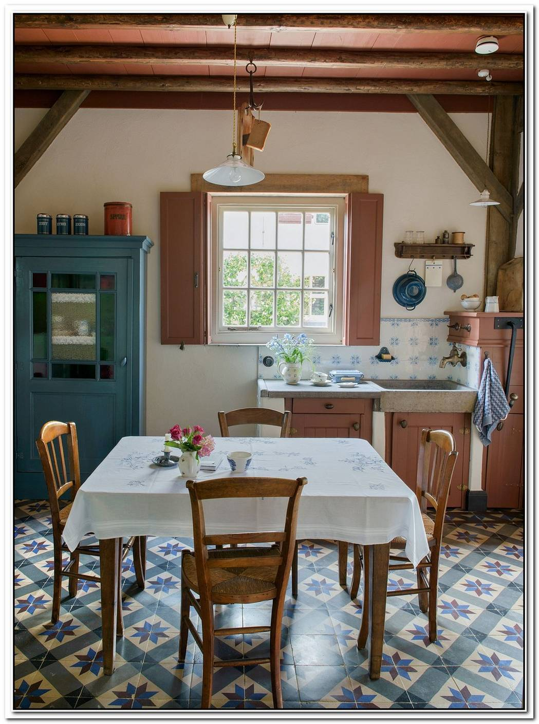 Restored Vintage Farmhouse